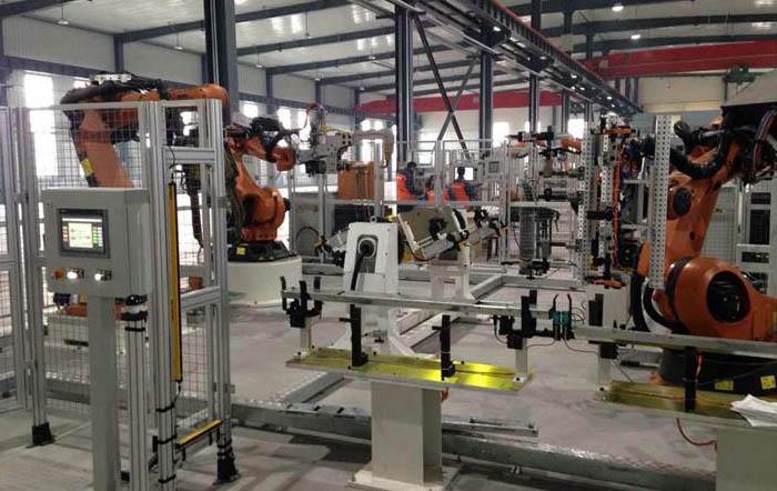 新厂房实验展示区1号复合工位